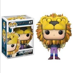 Harry Potter Funko Pop 47 Luna Lovegood Lion Head